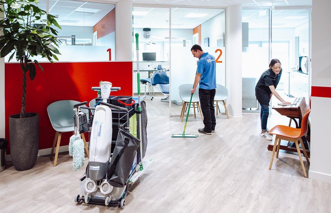 schoonmaken gezondheidscentrum oss nellen